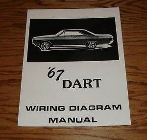 1967 Dodge Dart Wiring Diagram Manual 67