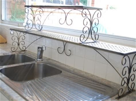 2 tier over the sink shelf handmade iron long over the sink sink shelf rack 2 tier