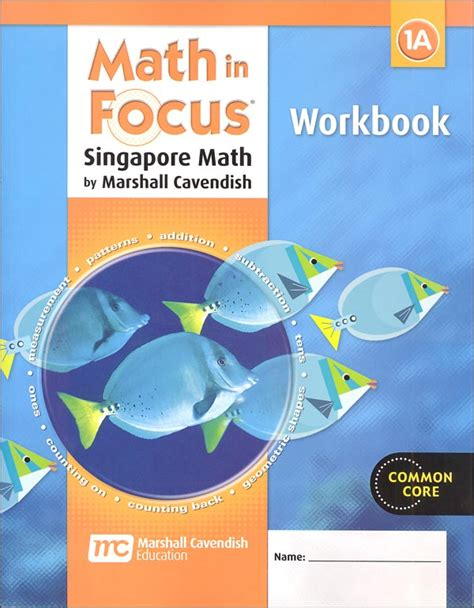 Math In Focus Grade 1 Workbook A (047456) Details  Rainbow Resource Center, Inc