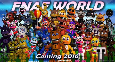 Fnaf World Theory Wikia