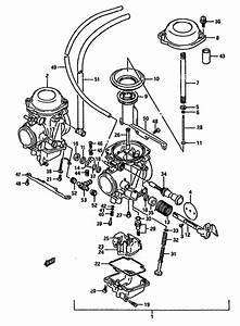 Carburetor For 1988 Suzuki Dr750
