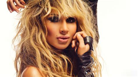 full hd wallpaper svetlana loboda disheveled blonde