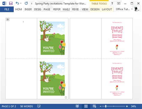 invitation templates microsoft word invitation template for word