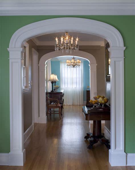 home interior arch designs interior arch traditional hall philadelphia by cushing custom homes inc