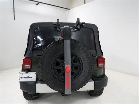 jeep wrangler bike rack 2006 jeep wrangler spare tire bike racks yakima