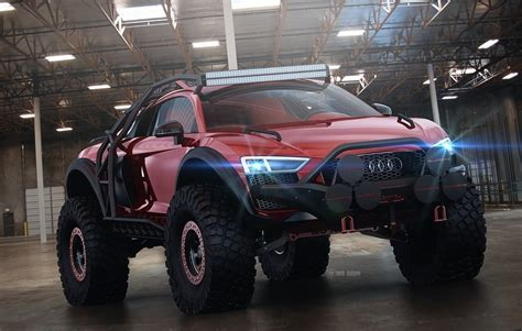 Could do it by pi class (x, s2, s1, a etc), or by discipline (rally, road racing etc). Audi R8 Off-Roader Rendering Looks Set to Conquer the Baja Rally - autoevolution