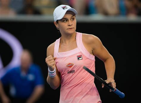 Barty and andreescu set up first career meeting in miami open final. ASHLEIGH BARTY at 2019 Australian Open at Melbourne Park ...
