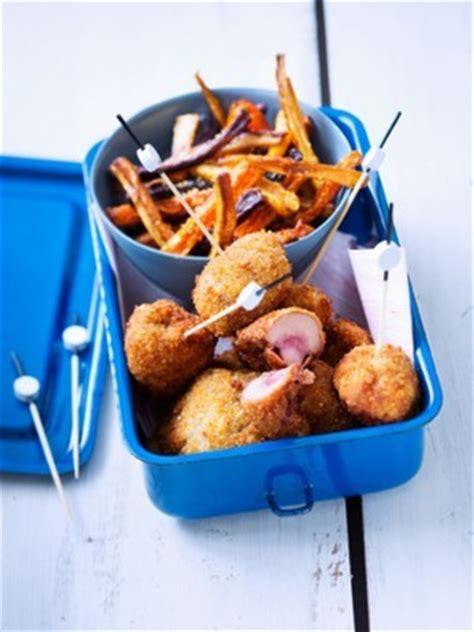 cuisiner les rognons de boeuf rognons de bœuf panés aux noisettes et frites de carottes recette iterroir