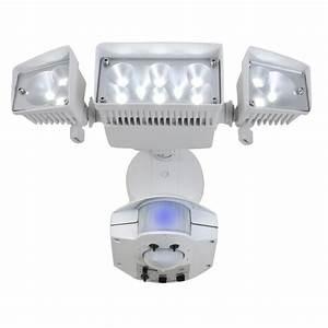 Utilitech degree head dual detection zone white
