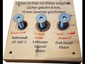 2K Klebstoffe, Kaltmetall, Epoxydharz Kleber, Profi Metall