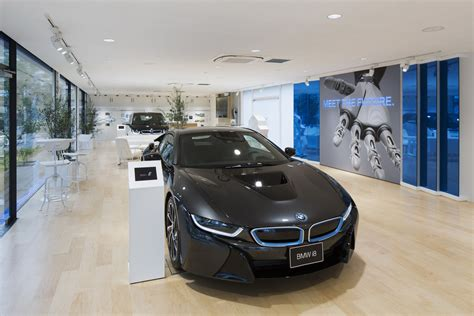 unique showroom dedicated  bmw  models opens  japan