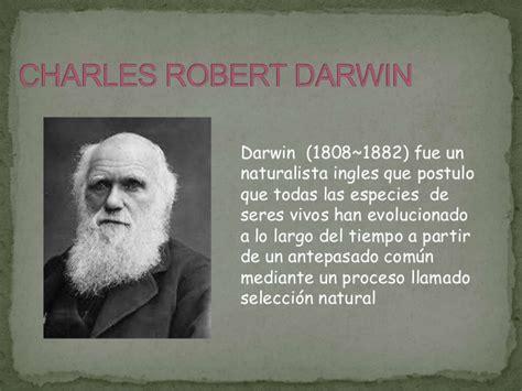 charles darwin resumen vida la seleccion de darwin y wallace porwerpoint