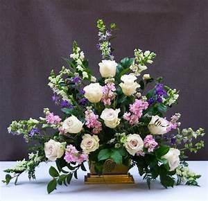 classic, triangle, church, flower, arrangement