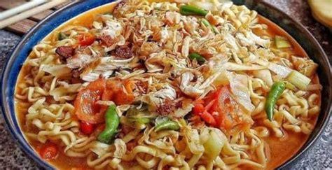 Cara membuat resep mie goreng tek tek asli bandung : Resep mie tek-tek rebus | reporter-channel.com