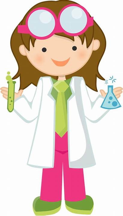 Science Clipart Material Scientist Transparent Ready Young