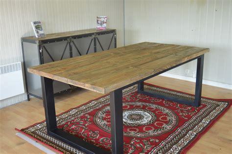 meuble industriel table de salle a collection et meuble salle de bain style industriel photo