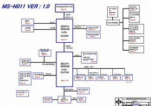 Msi Wind U100 U90 Netbook Schematic Diagram Ms