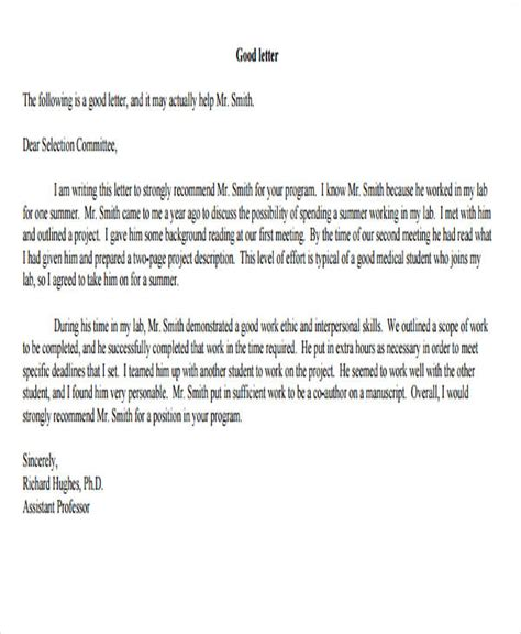 volunteer letter of recommendation 13 volunteer reference letter templates pdf doc free 25455 | Volunteer Reference Letter for College