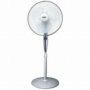 Soleus Air U00ae 16 U0026quot  Oscillating Fan With Remote