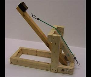 Wooden Catapult And Trebuchet Kits Plans DIY Free Download