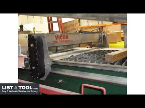 vicon hvac 510 plasma cutting table