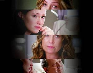 Lexie, Meredith and Thatcher when he needed a liver ...