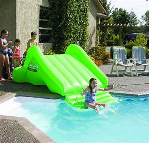 Toboggan Pour Piscine Hors Sol : dans la piscine jeux et confort pour tous piscines hydro sud ~ Carolinahurricanesstore.com Idées de Décoration