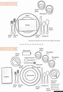 How To Set A Table Without Being Stuffy  Infographic