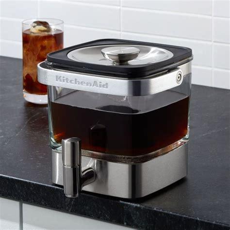Kitchenaid kcm4212sx cold brew coffee maker. KitchenAid Cold Brew Coffee Maker | Cold brew coffee maker, Coffee maker reviews, Cold brew