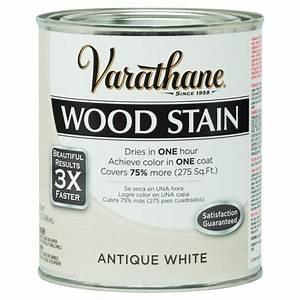 varathane 1 qt 3x antique white premium wood interior With home depot white furniture paint