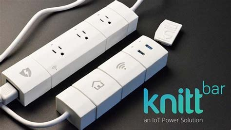 knittbar wifi enabled modular smart power strip gadgetsin