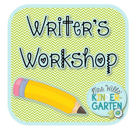Mrs Wills Kindergarten Writers Workshop