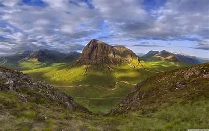 Scotland Highlands Mountains Wallpapers Aerial Scottish Desktop