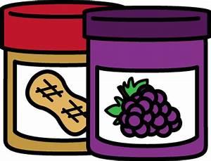 Peanut Butter And Jam Sandwich Clipart - ClipArt Best