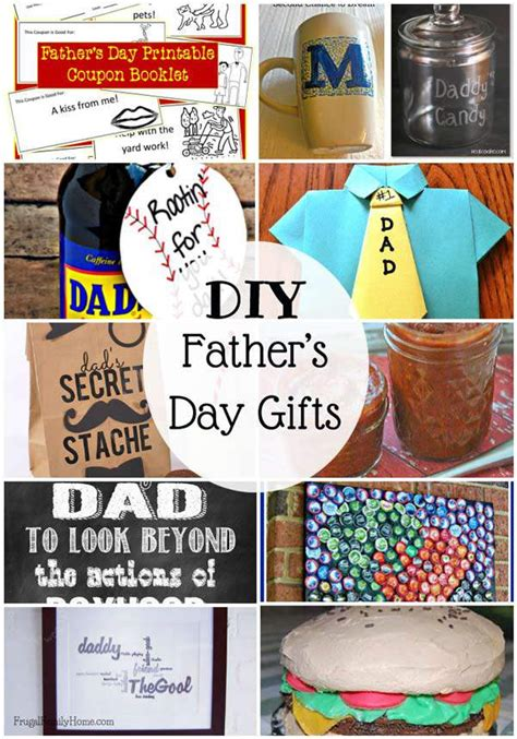 fathers day diy gifts 25 diy father s day gifts to make frugal family home
