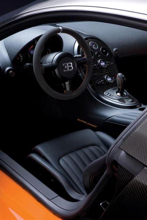 The bugatti veyron has exceptional ergonomics. Cars World: Bugatti Veyron interior