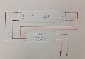 Deepakkumar Yadav  How Does A Fluorescent Tube Light Work And How Starter Work  In Hindi