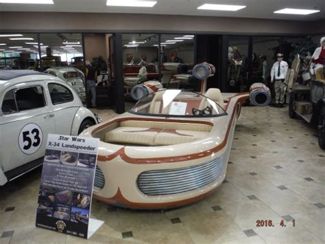 Wars Speeder Car by Wars Speeder Picture Of Ideal Classic Cars Museum