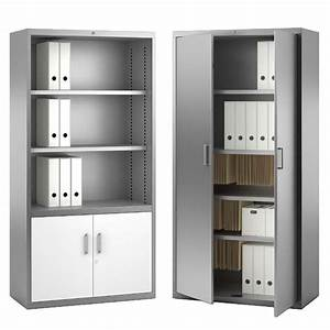 Armoire De Rangement Bureau : armoire de rangement bureau armoire de bureau metallique ~ Dailycaller-alerts.com Idées de Décoration