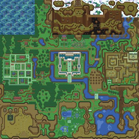 2d how did loz a link to the past handle sub tile
