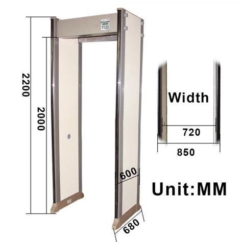 Door Frame Archway Metal Detector Full Body Metal