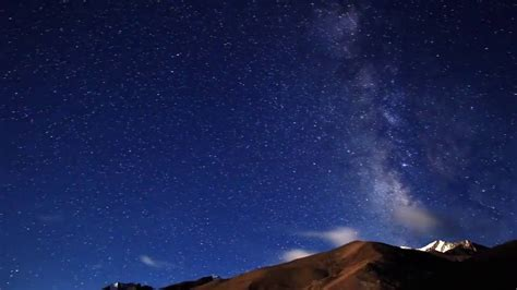 Night Sky Full Stars Stock Footage Youtube