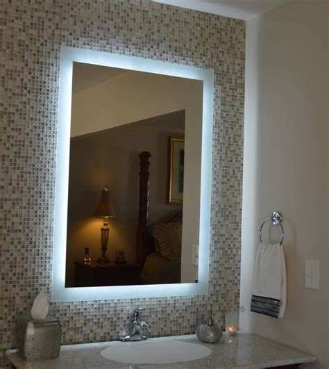 Bathroom Mirror With Lights by Best 20 Bathroom Mirrors With Lights Ideas On