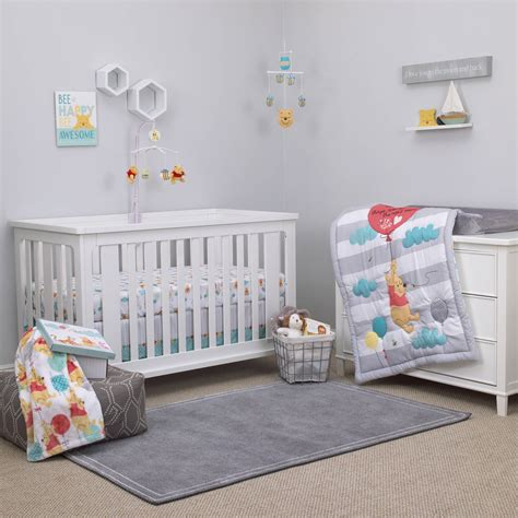 winnie the pooh nursery winnie the pooh first best friend 4pc crib set disney baby