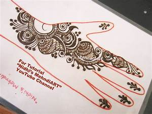 Quick Arabic Mehndi Henna Designs Tutorial for Back ...