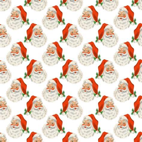 christmas santa vintage background  stock photo