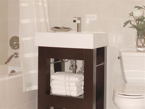 vanity ideas for small bathrooms small bathroom vanities hgtv