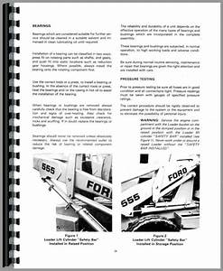 33 Ford 555d Backhoe Parts Diagram
