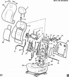 Cadillac Cts Panel  Front Seat Back  Fintitaniumpanel