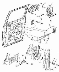 2003 Dodge Dakota Door  Rear Lock  U0026 Controls